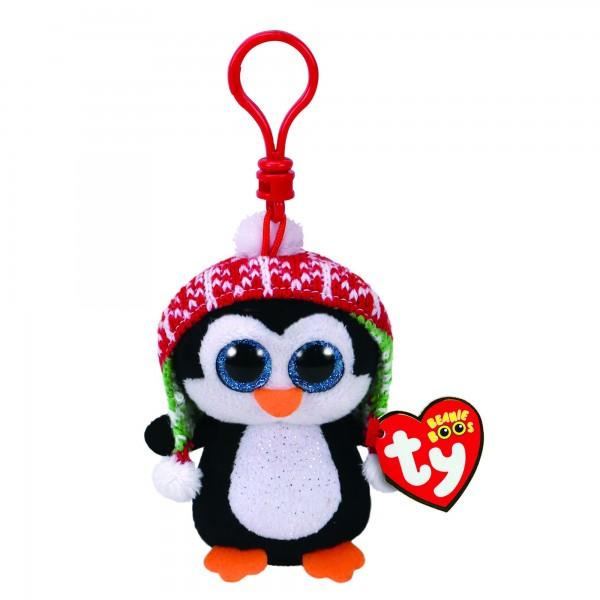 Penelope Xmas Penguin - Clip Ons Beanie Boos