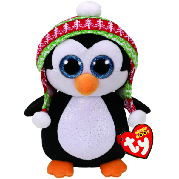 Penelope Xmas Penguin Medium - Beanie Boos