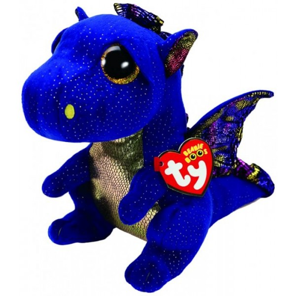 Saffire the Blue Dragon Medium - Beanie Boos