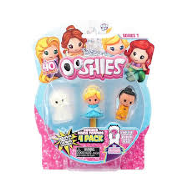 4pk Ooshies Disney Princess