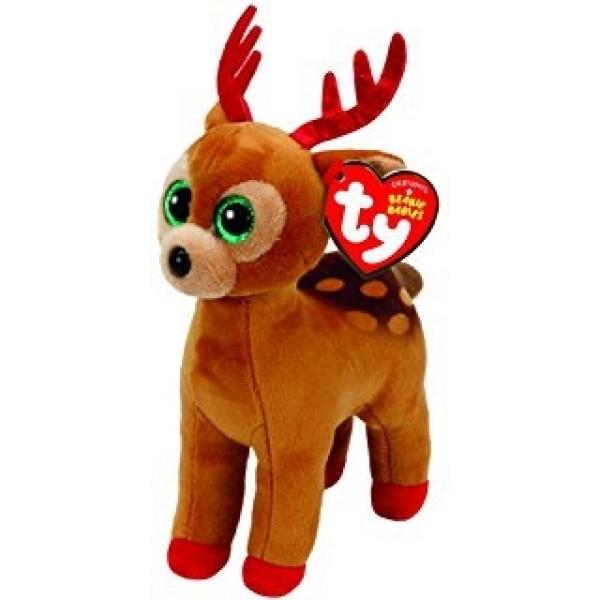 Tinsel Brown Xmas Reindeer - Beanie Boos