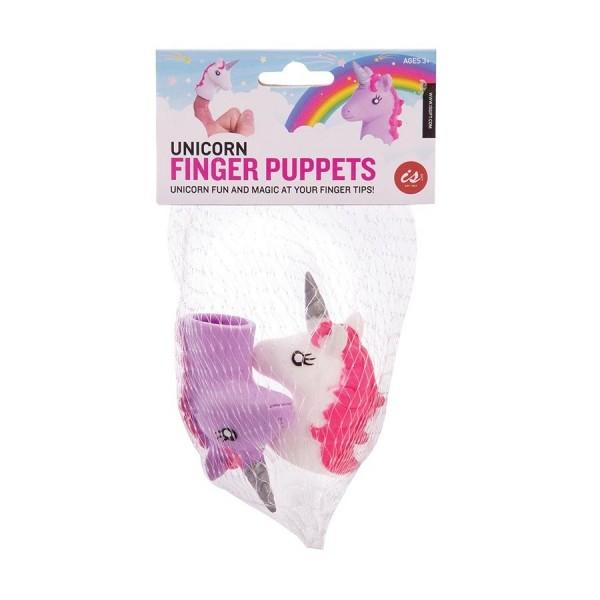 Unicorn Finger Puppets (24/Disp)