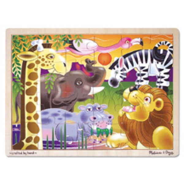 African Plains - Wooden Puzzle