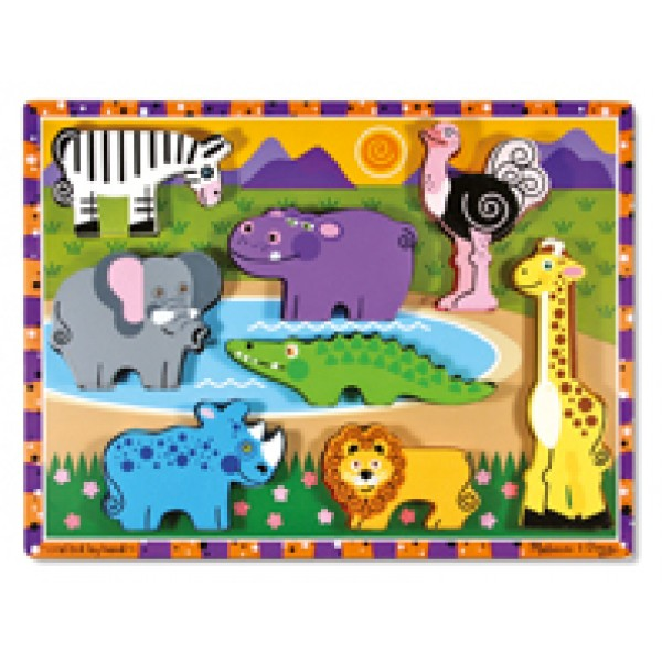 Safari Chunky - Wooden Puzzle