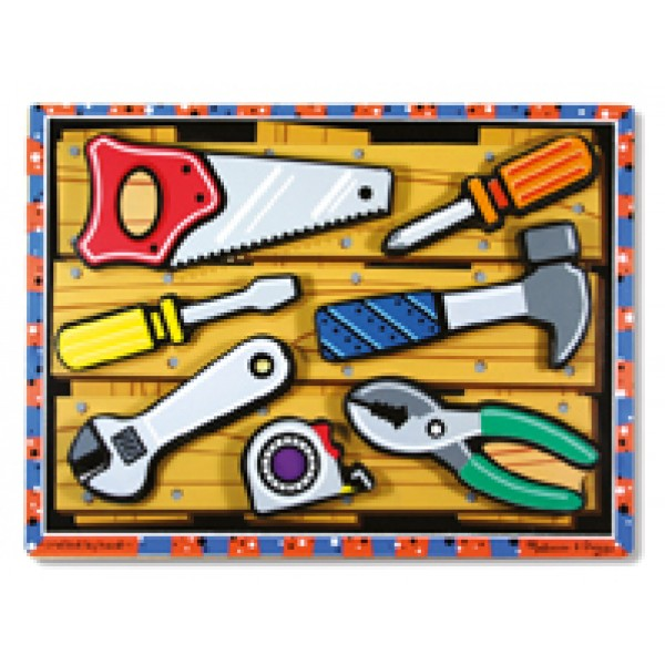 Tools Chunky - Wooden Puzzle