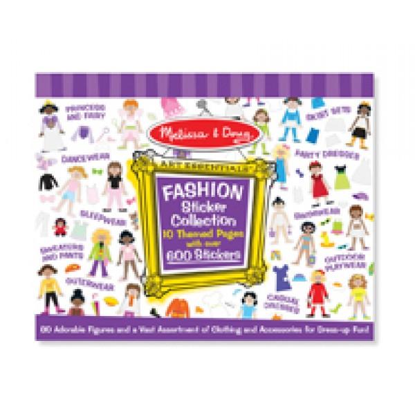 Fashion Sticker Collection - Melissa & Doug