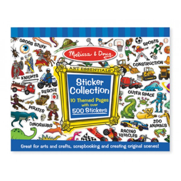 Blue Sticker Collection - Melissa & Doug