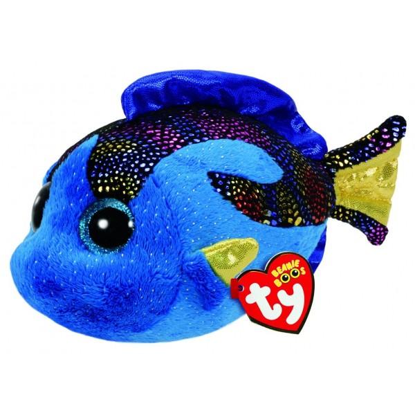 Aqua Blue Fish - Medium Beanie Boos