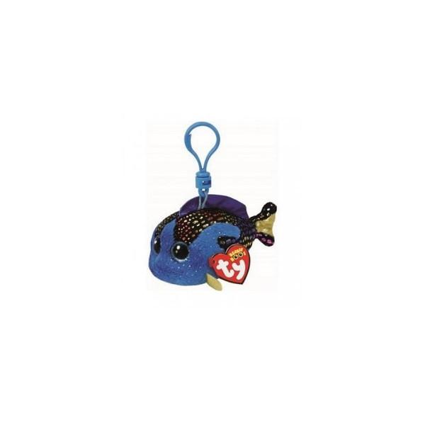 Aqua Blue Fish - Clip On Beanie Boos
