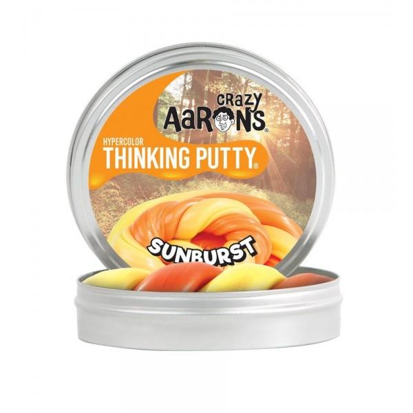Sunburst Heat Sensitive Hypercolor 4inch Tin - Thinking Putty