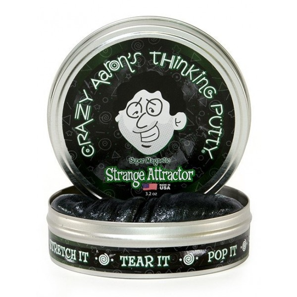Strange Attractor Super Magnetic 4inch Tin plus magnet - Thinking Putty
