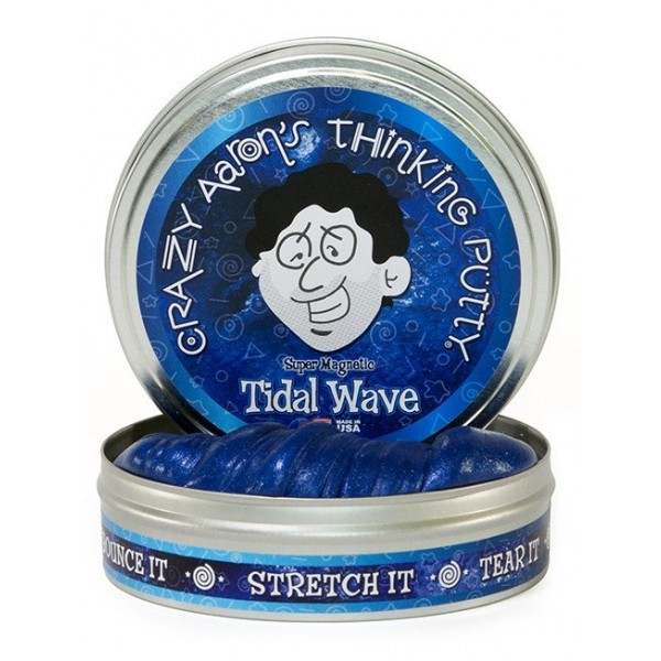 Tidal Wave Super Magnetic 4inch Tin plus magnet - Thinking Putty