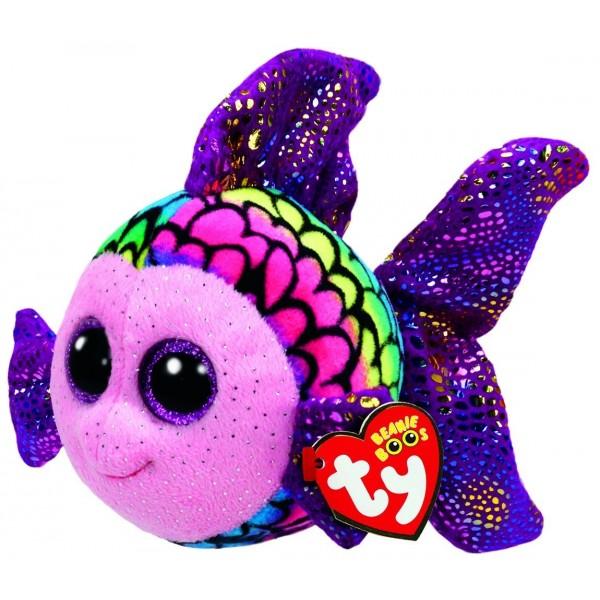 Flippy Multicolour Fish - Medium Beanie Boos