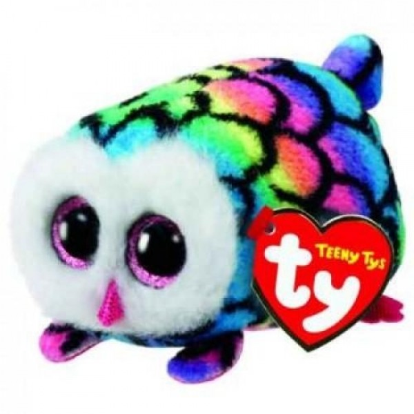 Hootie Multicolour Owl - Teeny Tys