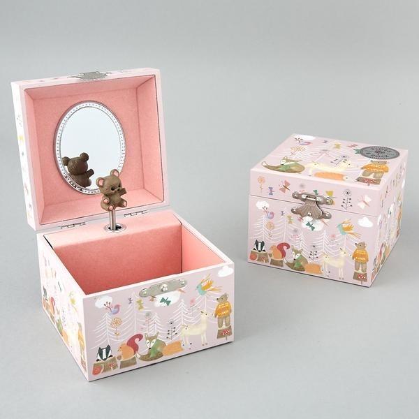 Woodland Animals Jewellery Box