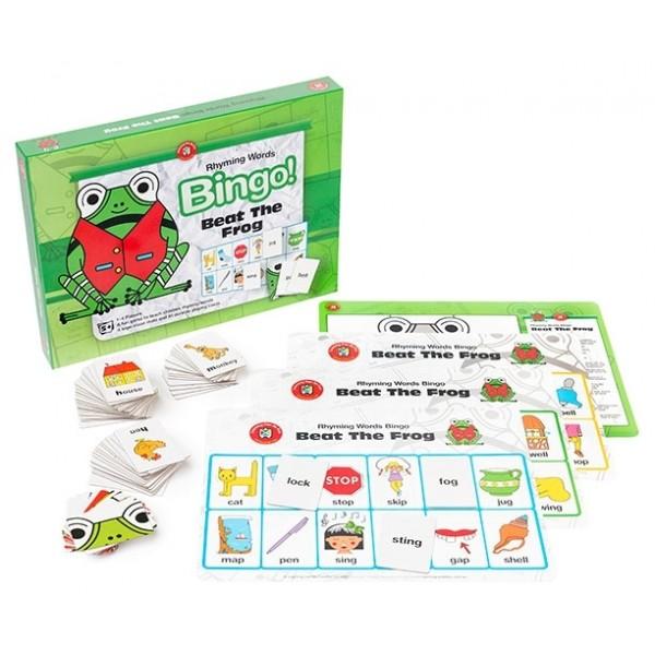 Beat The Frog Bingo - Rhyming Words
