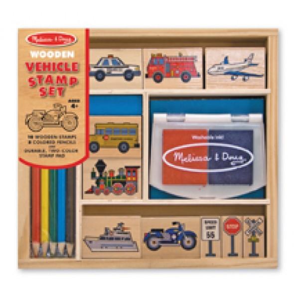 Vehicle Stamp Set - Melissa & Doug