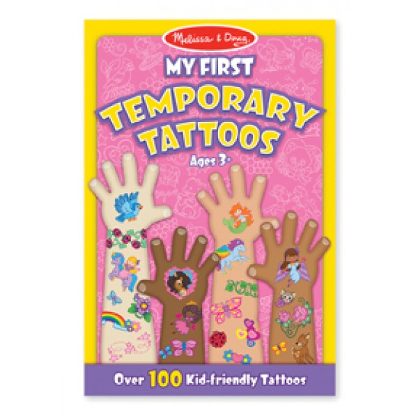 Girl First Temporary Tattoos