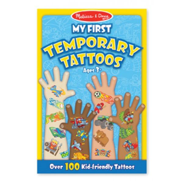 Boy First Temporary Tattoos