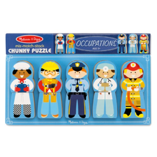 Occupations Chunky Puzzle