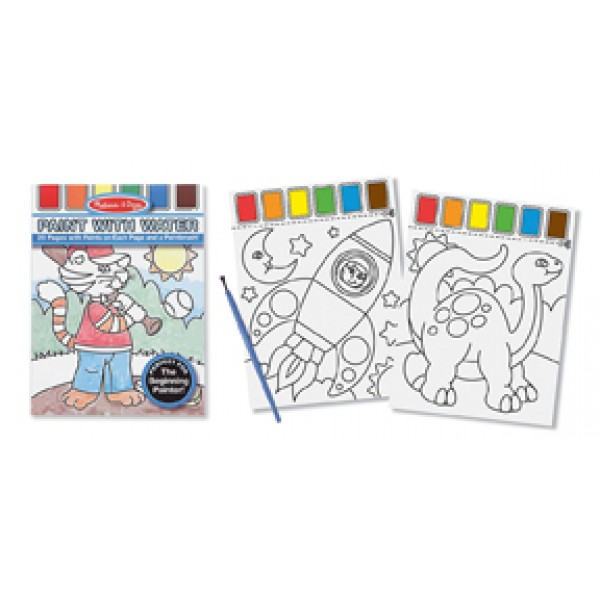 Blue - Paint with Water - Melissa & Doug