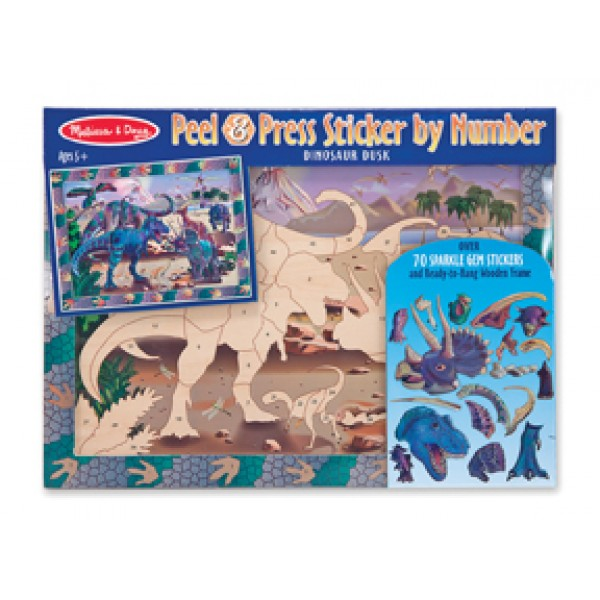 Dinosaur - Peel & Press - Melissa & Doug