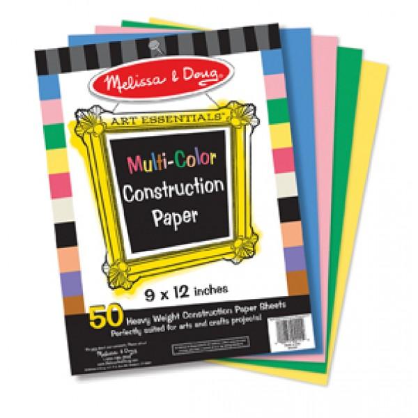 Multi-Colour Construction Paper