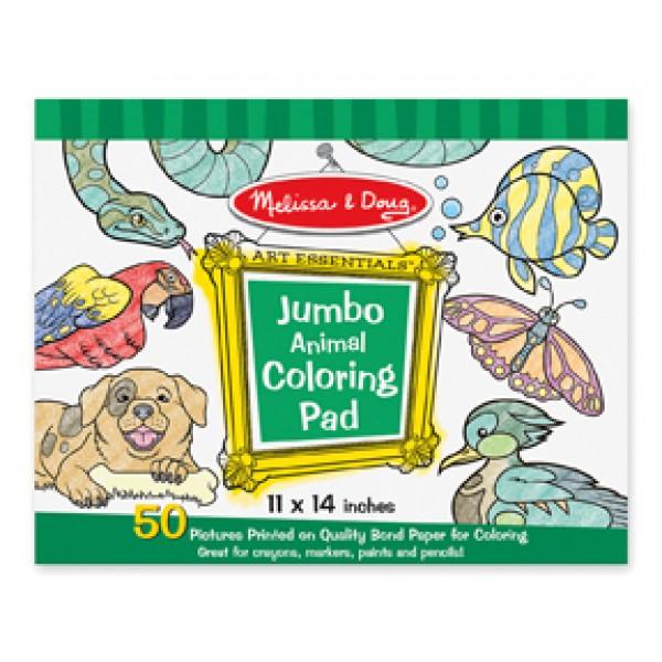Animals Colouring Pad - Jumbo - Melissa & Doug