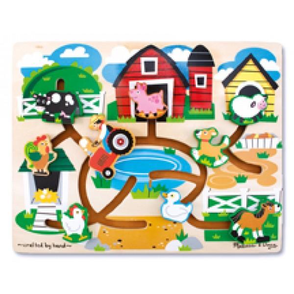 Farm Maze - Wooden Puzzle