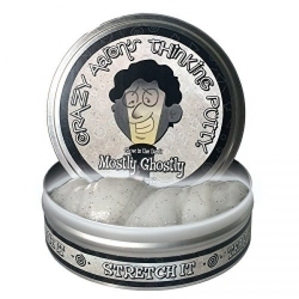 """Mostly Ghostly - 4"""" Thinking Putty"""