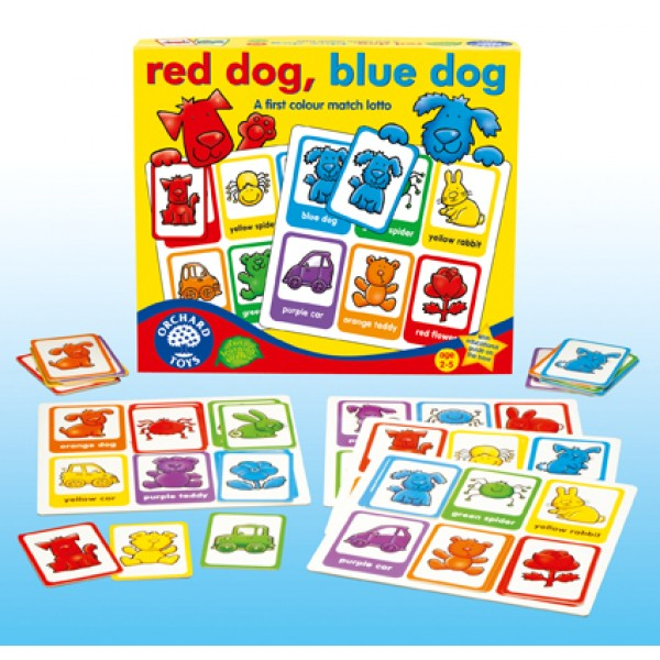 Red Dog Blue Dog - Orchard Toys