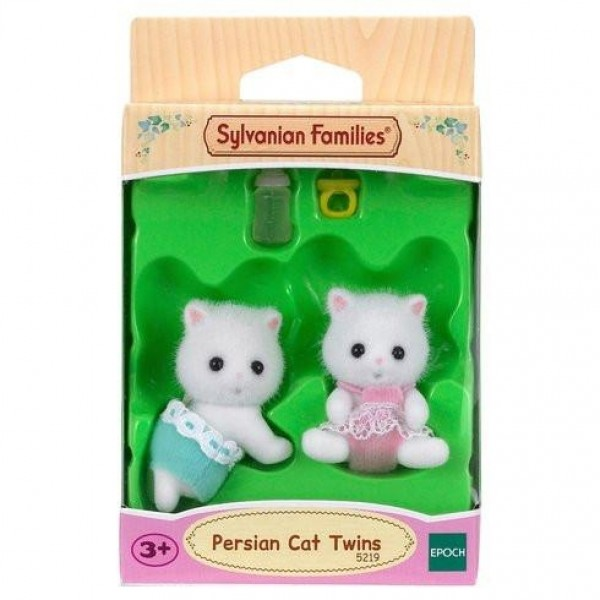 Persian Cat Twins - Sylvanian Families