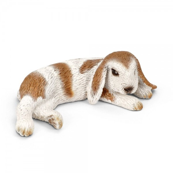 Young Dwarf Lop Lying - Schleich