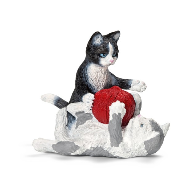 Kittens with Ball of Yarn - Schleich