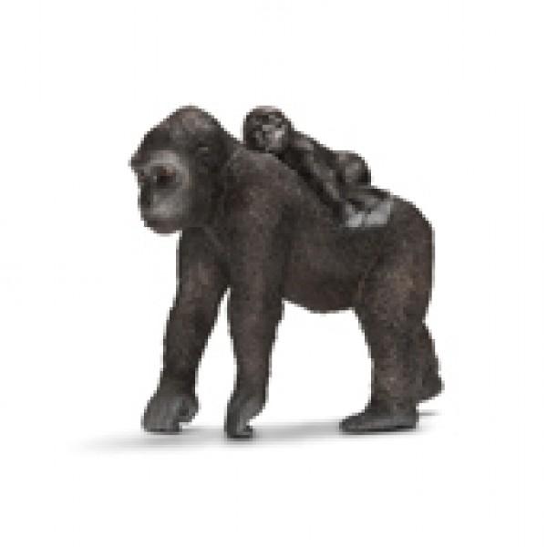 Gorilla Female with Baby - Schleich