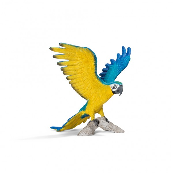 Blue and Yellow Macaw - Schleich
