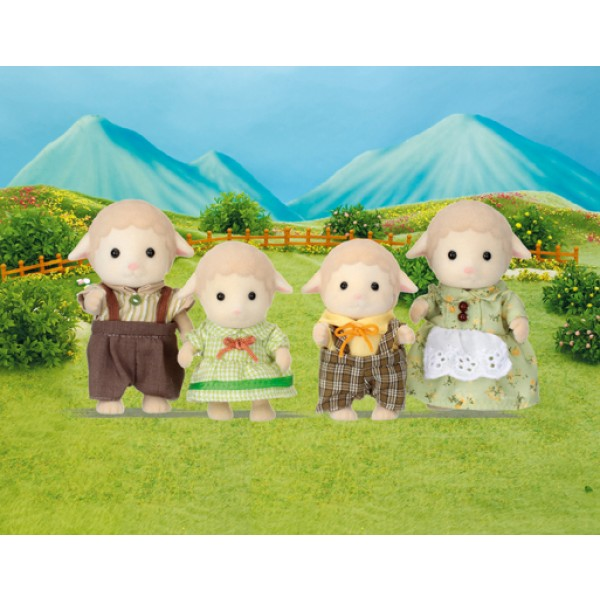 Sheep Family - Sylvanian Families