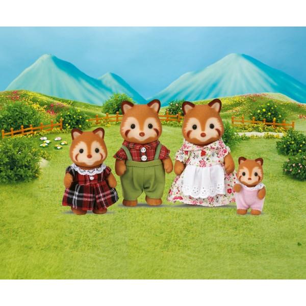 Red Panda Family - Sylvanian Families