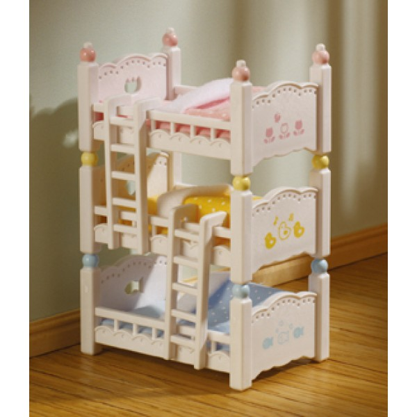 Triple Bunk Beds - Sylvanian Families