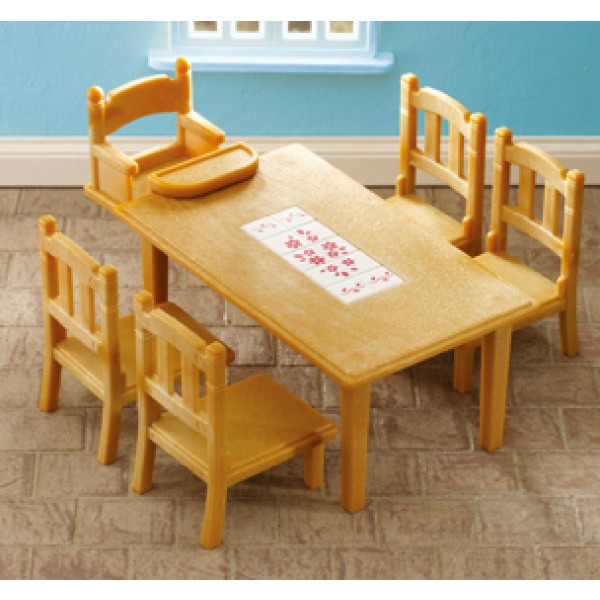 Family Table & chairs - Sylvanian Family