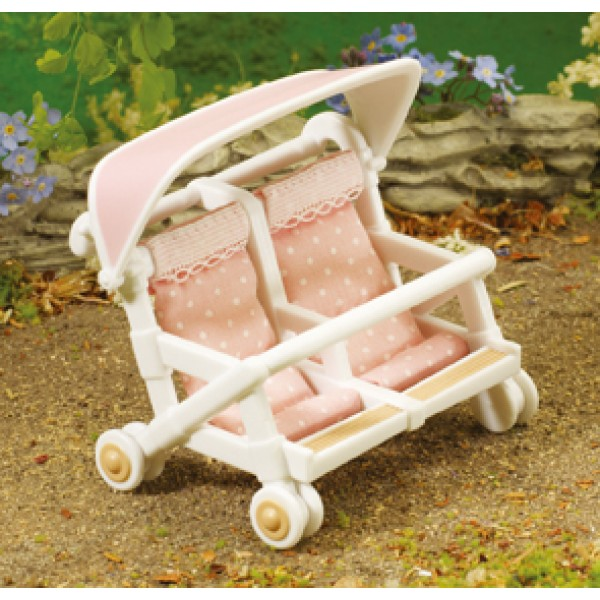 Double Pushchair - Sylvanian Families