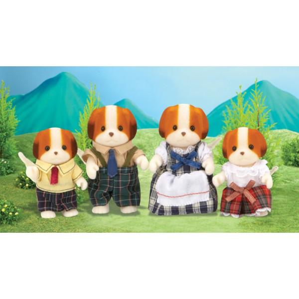 Chiffon Dog Family - Sylvanian Families