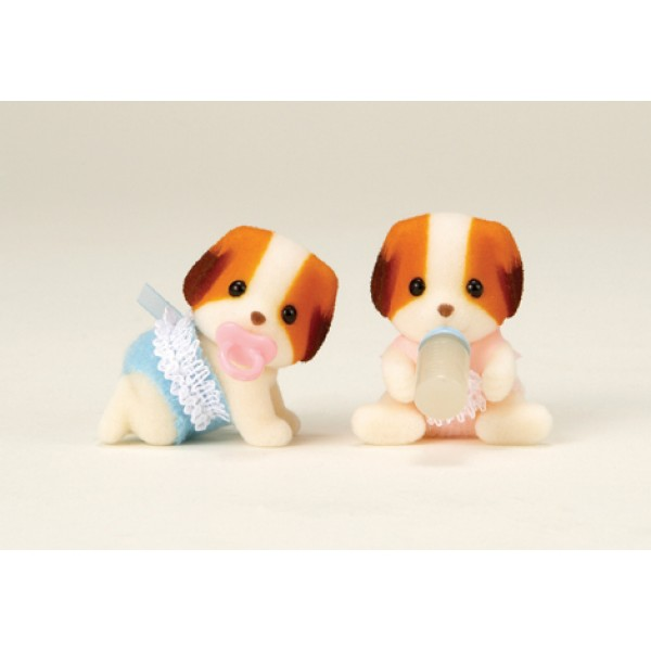 Chiffon Dog Twins - Sylvanian Families