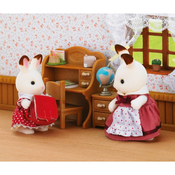 Chocolate Rabbit Sister Set - Sylvanian Families