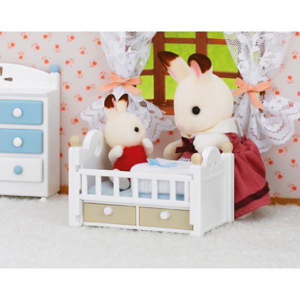 Chocolate Rabbit Baby Set - Sylvanian Families