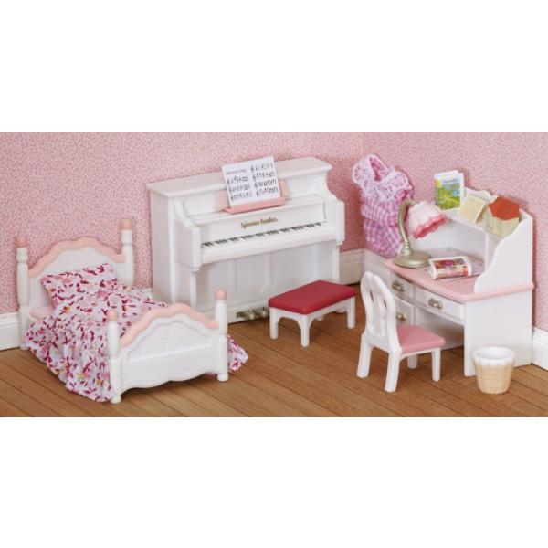Girls Bedroom Set - Sylvanian Families
