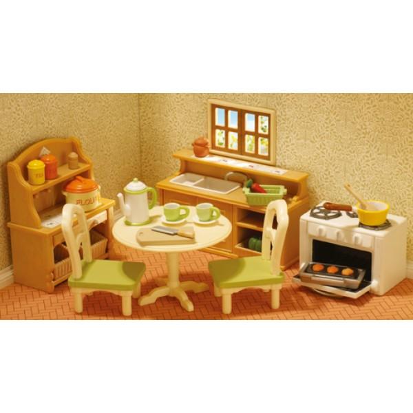 Country Kitchen Set - Sylvanian Family