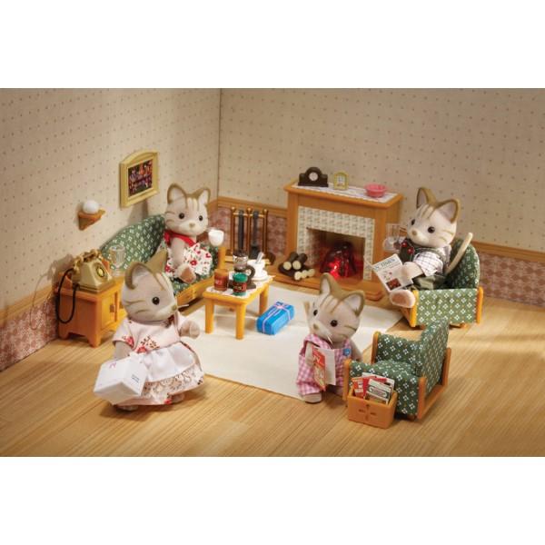 Deluxe Living Room Set - Sylvanian Families