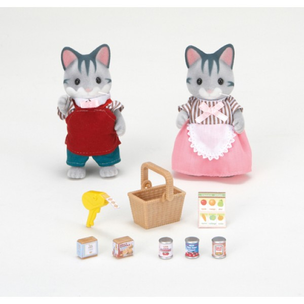 Supermarket Owners - - Sylvanian Families