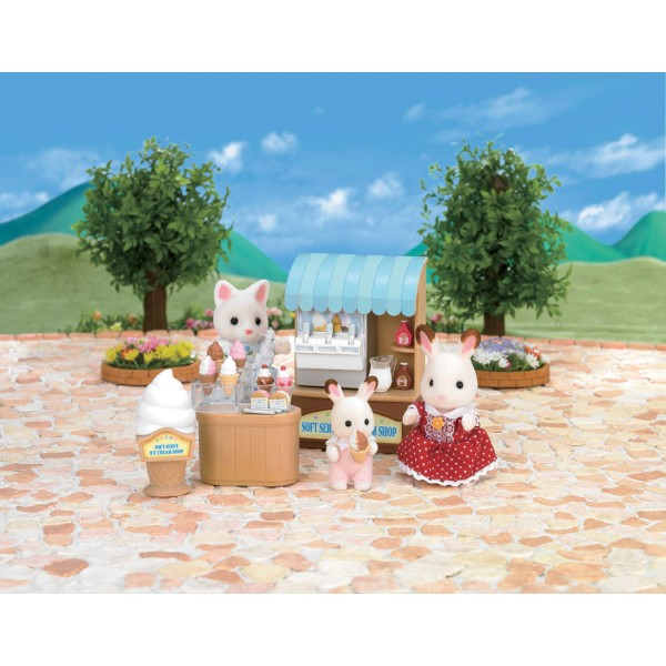 Ice Cream Shop Soft Serve - Sylvanian Families